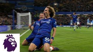 David Luiz's fantastic header doubles Chelsea's lead against Man City | Premier League | NBC Sports