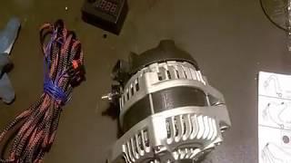 установка Генератора AZ-13 SPL POWER 320 ампер на ВАЗ