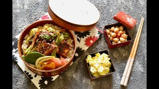 【お弁当作り】厚揚げホイコーロー弁当の作り方〜How to make Japanese vegan bento lunch box〜 thumbnail