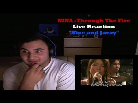 NINA -Through The Fire Live Reaction