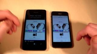 microsoft Lumia 550 vs iPhone 5