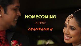 Chandana H(Seeduwa Sakura) Homecoming ekata apu  gayana silpin gen kotasak  2014-10-05