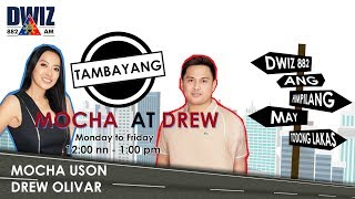 ATTY TRIXIE SA TAMBAYANG MOCHA AT DREW - 11/20/2018