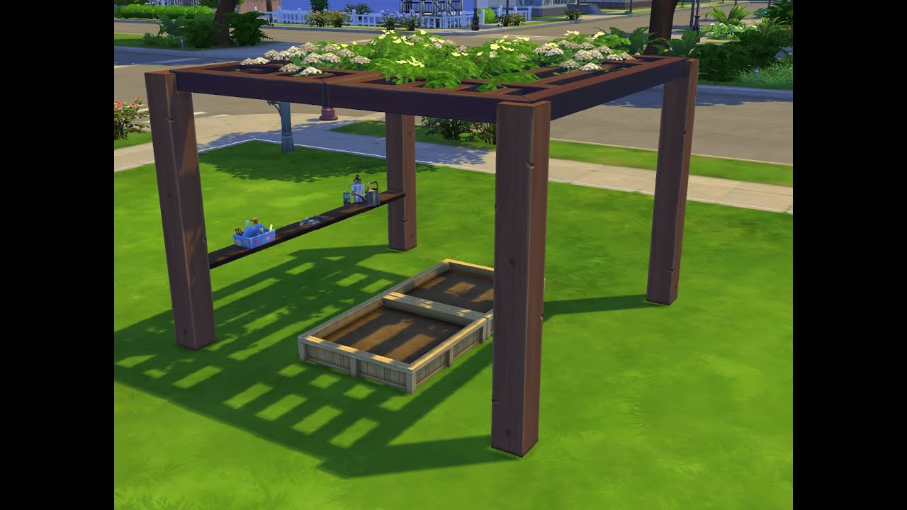 Los Sims 4 Miniconstrucciones P 201 Rgola Youtube