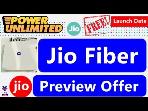 Image result for JioFiber Preview Offer