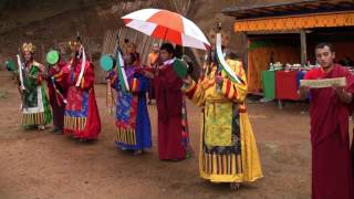 5 Element Sacred Dance in Bhutan