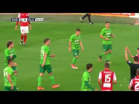 11. krog: Krško - Aluminij 2:0 ; Prva liga Telekom Slovenije 2017/18