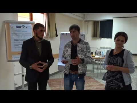 """Young Activist"" Project: Workshop in Gyumri, Shirak region, presentation of the WG 3 (2)"