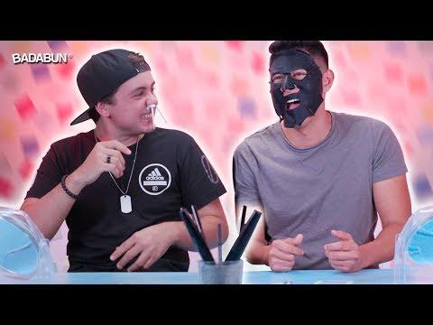 YouTubers hombres prueban productos de mujeres
