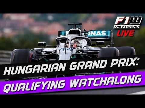 Hungarian Grand Prix: Qualifying Watchalong