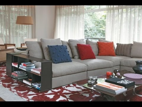 10+ Sofá Cinza Com Almofadas Vermelhas