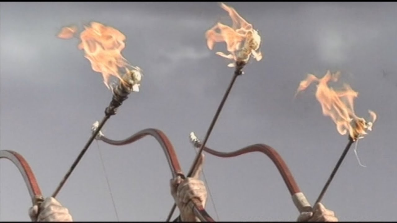Fire-arrows!