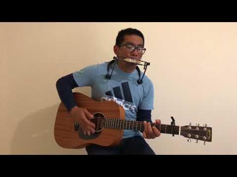 Indah rencanamu Tuhan | Guitar & harmonica cover