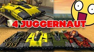 ТАНКИ ОНЛАЙН l СНОВА ПОЛУЧИЛ Juggernaut и Terminator на СВОЙ АККАУНТ - 4 ДЖАГГЕРА на КАРТЕ !