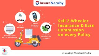 Sell 2-Wheeler Insurance with your existing business & Earn Extra Income #Insuring2WheelersOfIndia