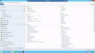 كيفية إنشاء مندوب المبيعات في Ax 2012 r3