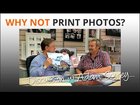 Photography Tips: Printing your photos has payoffs 1