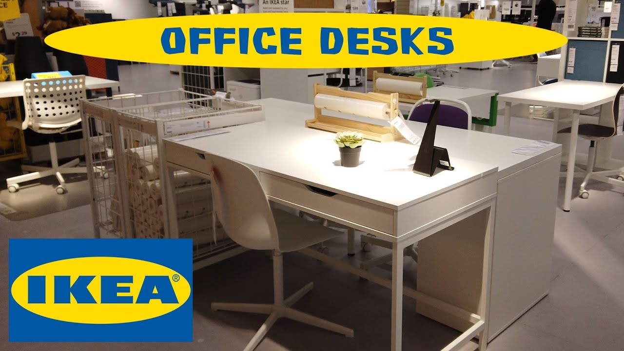 Ikea Office Desks Youtube