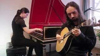 Folía by Lucia Caruso & Pedro H. da Silva (Portuguese guitar & harpsichord)