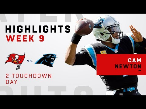 Cam Newton's 280 Total Yards & 2 TDs vs. Bucs