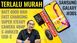 3 Jutaan, 6000mAh, S-AMOLED, 48MP: Review Samsung Galaxy M30s RESMI - Indonesia