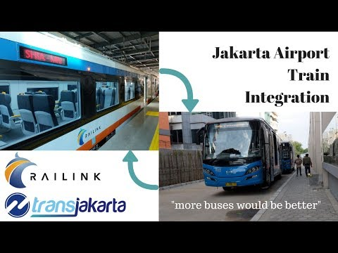 More buses would be better! || Jakarta Airport Train Integration with Public Buses Transjakarta