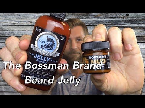 The Bossman Brand Beard Jelly