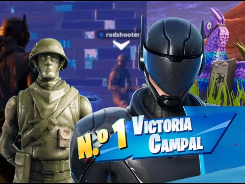 VICTORIA CAMPAL Ft Rodshooter DUOS ! Subfusil A Topisimo!