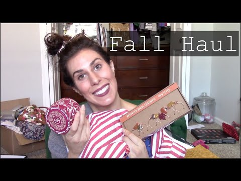 Fall Haul 2018 | Anthropologie, Forever 21, Pottery Barn & Sur La Table