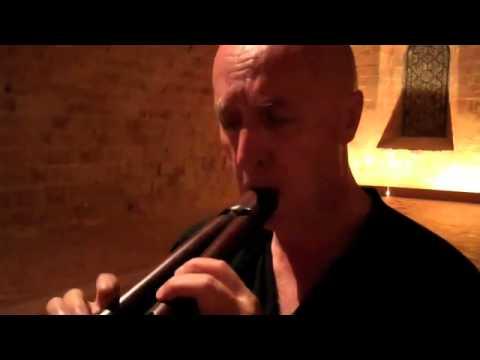 Pierre Hamon Medieval double recorder