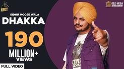 DHAKKA : Sidhu Moose Wala ft Afsana Khan | The Kidd | Punjabi Songs 2020 | Gold Media