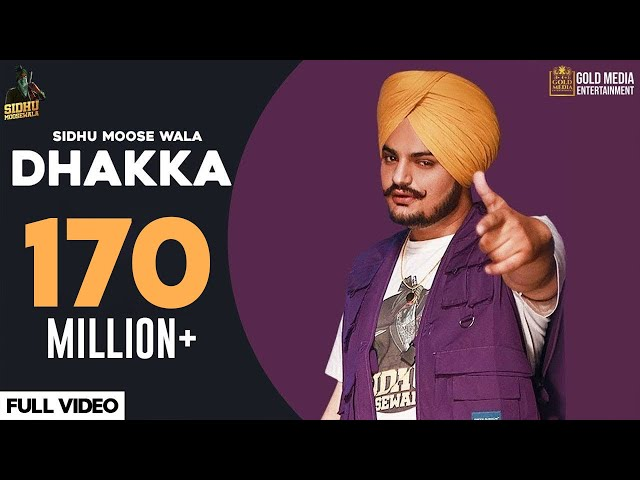 DHAKKA : Sidhu Moose Wala ft Afsana Khan | Official Music Video | Latest Punjabi Songs 2019