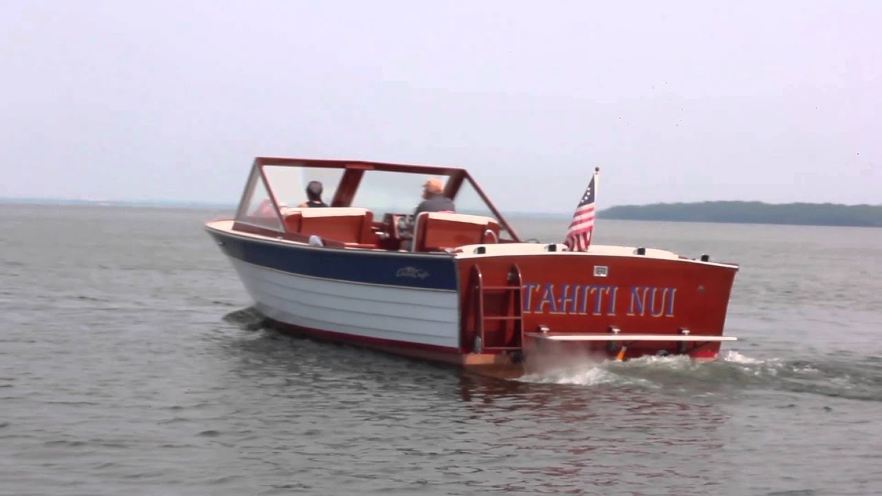1963 Chris-Craft Sea Skiff 28' at Brightwork Boats