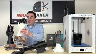 NeuroMaker Hand: 3D Printing Exploration