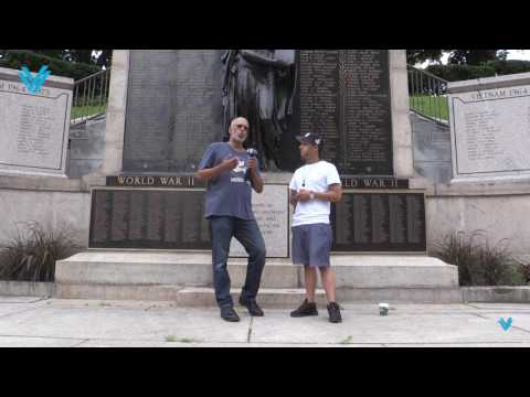 Hector Santiago walk from Yonkers to Albany