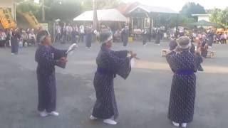大兼久エイサー 2016年大宜味・大兼久豊年祭