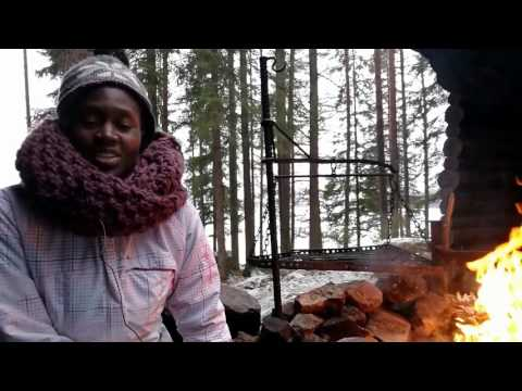 Elizabeth from NUST, Namibia as exchange student at SAMK, Finland