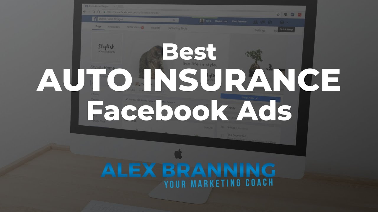 Best Auto Insurance Facebook Ad Examples Free Swipe File Youtube