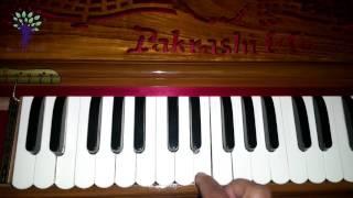 Harmonium Tutorials on Vaishnav Bhajans Sa5 Hare Krishna Raag Bhairav Morning