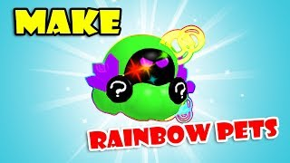 *Make RAINBOW PETS*, 2 NEW EGGS & 3 NEW AREA [Update 18] Roblox ICE CREAM SIMULATOR