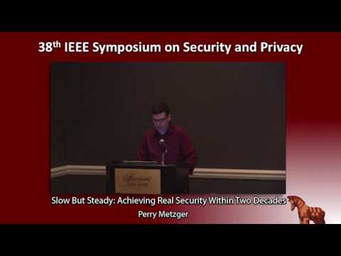 Slow But Steady: Achieving Real Security Within Two Decades