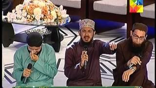 Reciting Kalam Bhardo Jholi Meri at Jashn e Ramzan HUM TV Show