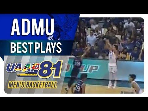 UAAP 81 MB: Anton Asistio drills DEEP three pointer to deflate Adamson   ADMU   Best Plays