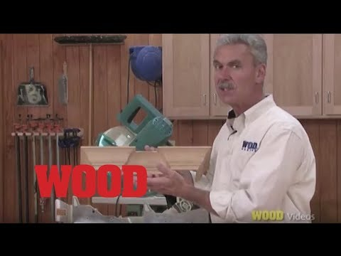 How To Cut Short Pieces of Crown Molding - WOOD magazine