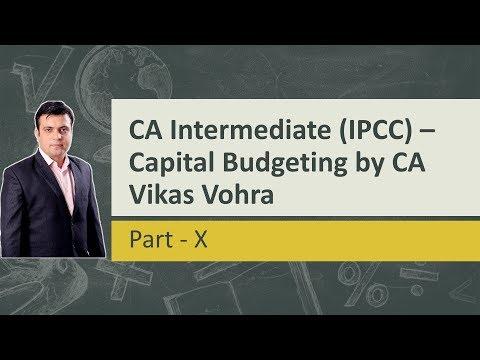 CA Intermediate (IPCC) - Capital Budgeting Part - X(Capital Rationing)