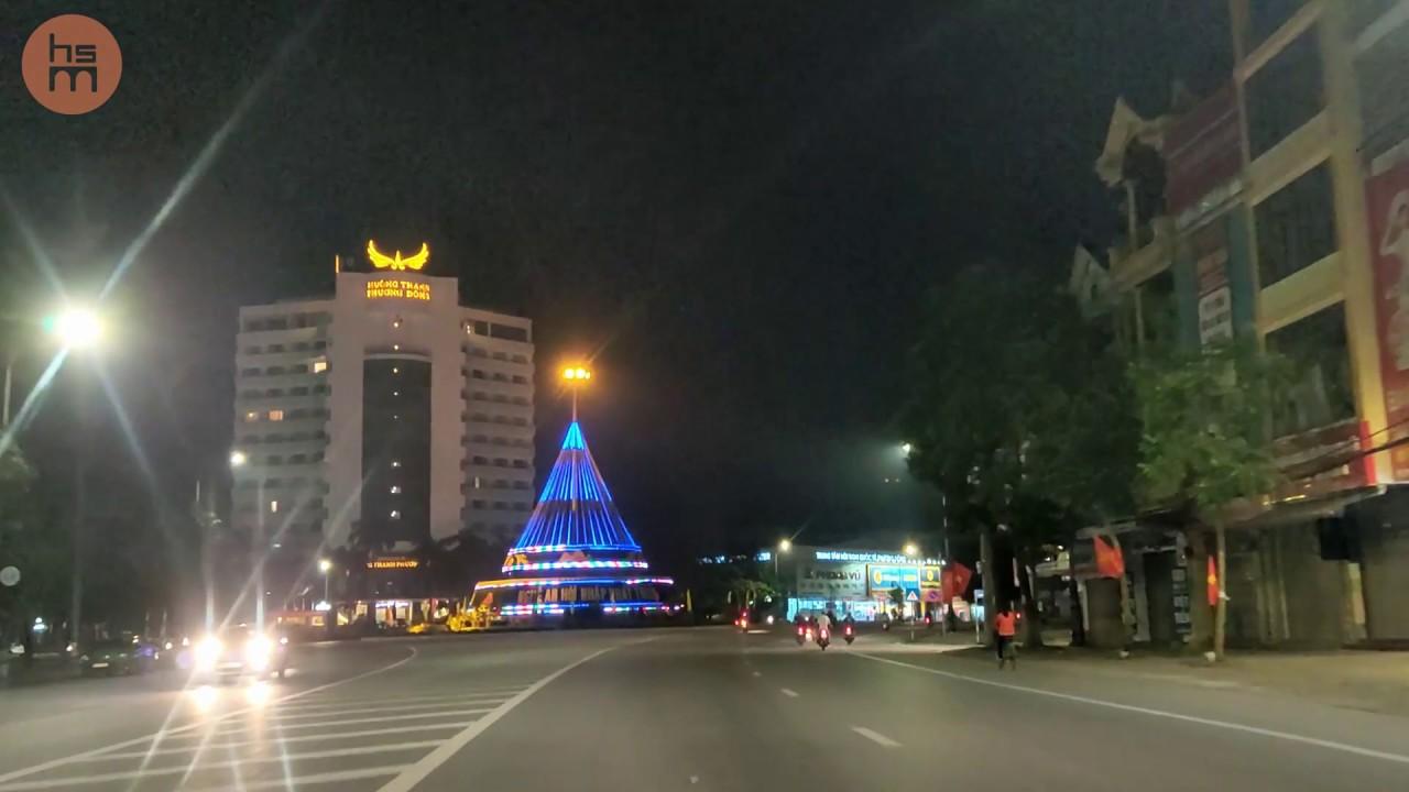 HSM – Quảng Trường TP Vinh  về đêm – Nghe Nhạc Remix hay