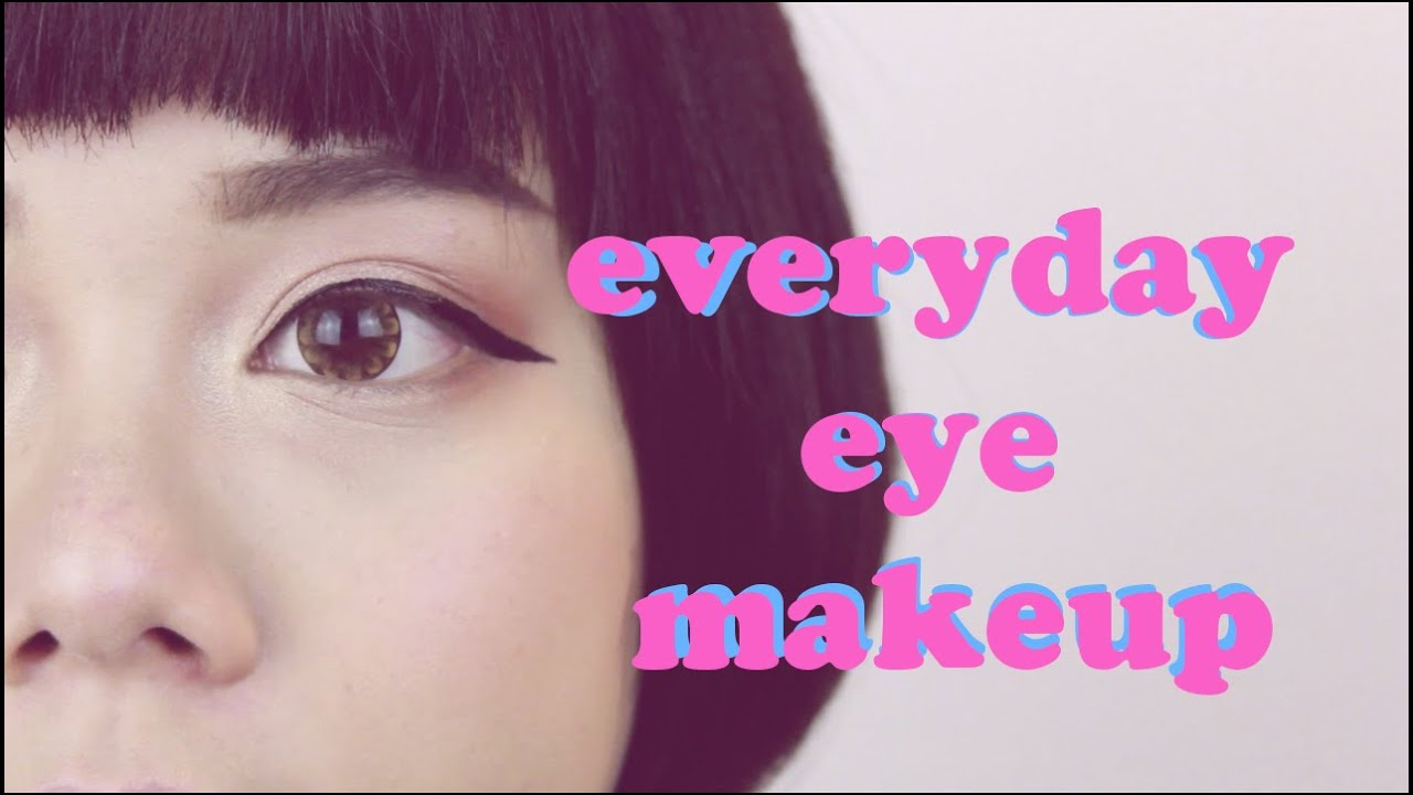 Everyday Eye Makeup Puppy Liner Tutorial Nictrick Youtube