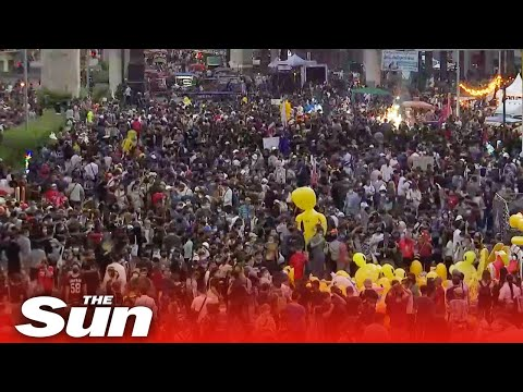 Live: Thailand anti-gov protest