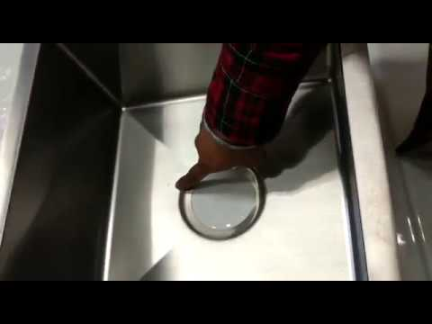 How to remove scratches from your Luxury stainless steel kitchen sinks