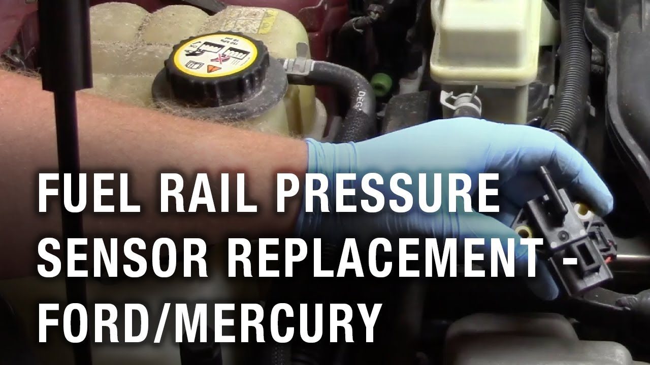 fuel rail pressure sensor replacement - ford taurus/mercury montego